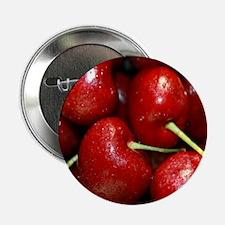 """cherries 2.25"""" Button"""