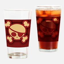 Billy-roger-red-OV Drinking Glass