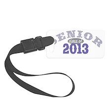 Senior 2013 Purple 2 Luggage Tag