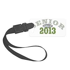 Senior 2013 Green 2 Luggage Tag