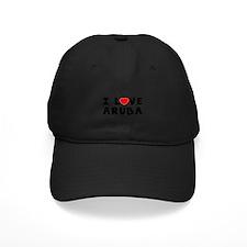 I Love Aruba Baseball Hat