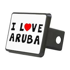 I Love Aruba Hitch Cover