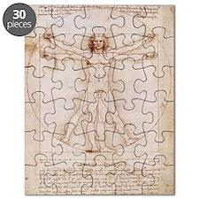 Vitruvian Man Puzzle