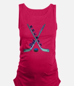 hockey_dad_1 Maternity Tank Top