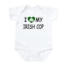 I Love Irish Cop Infant Bodysuit