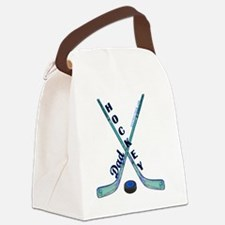 hockey_dad_1 Canvas Lunch Bag