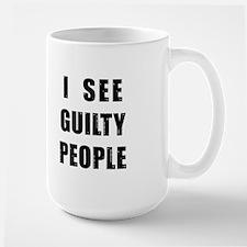 See Guilty People Mugs