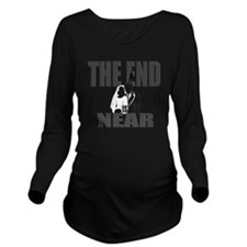 END IS NEAR png Long Sleeve Maternity T-Shirt