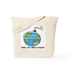 earth as bomb erthdy-ts-c Tote Bag