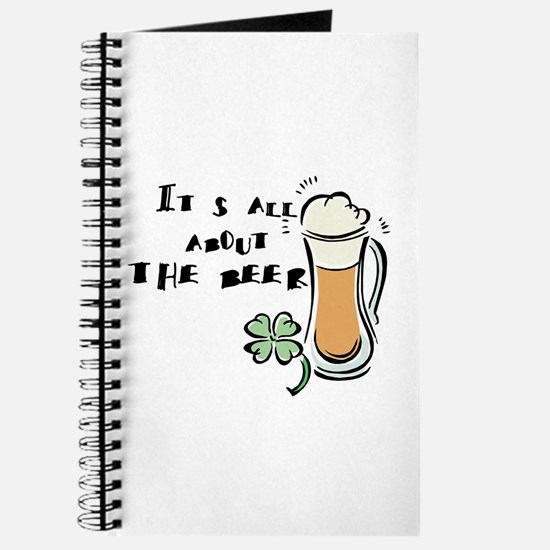 Its All About the (Irish) Beer Journal