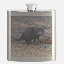 Hungry Tasmanian Devil Flask
