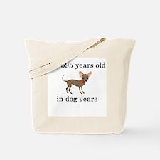 85 birthday dog years chihuahua Tote Bag