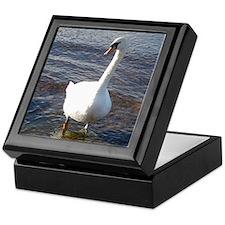 Beautiful Swan Keepsake Box