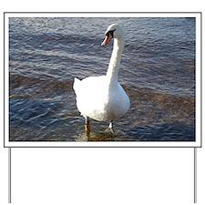 Beautiful Swan Yard Sign