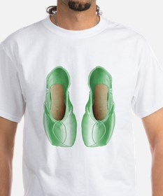 Soft Lime Pointe Shoes Shirt