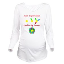 small improvement fl Long Sleeve Maternity T-Shirt