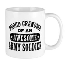 Proud Army Grandma Small Mug