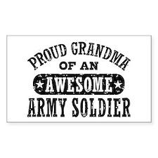 Proud Army Grandma Decal