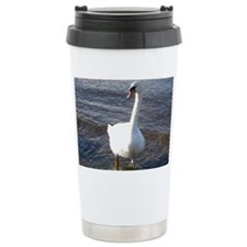 Beautiful Swan Travel Coffee Mug