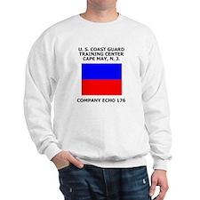 USCG Recruit Company E176<BR> Sweatshirt 2