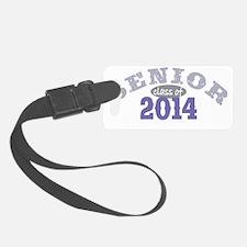 Senior 2014 Purple 2 Luggage Tag