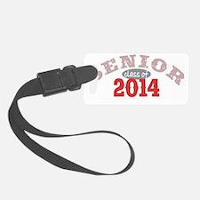 Senior 2014 Red 2 Luggage Tag