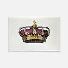 Vintage Pink Crown Magnets
