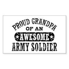 Proud Army Grandpa Decal