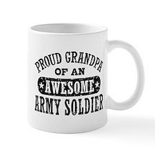 Proud Army Grandpa Small Mug