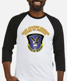 DUI - 101st Aviation Brigade with Text Baseball Je