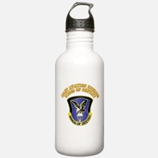 DUI - 101st Aviation Brigade with Text Water Bottle