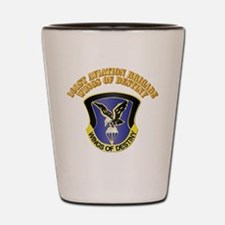 DUI - 101st Aviation Brigade with Text Shot Glass