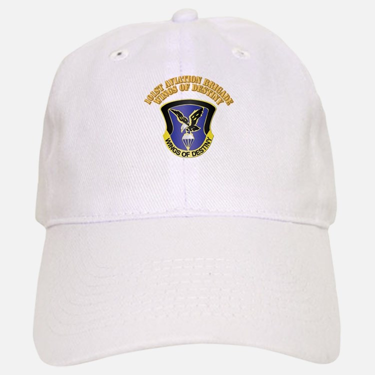 DUI - 101st Aviation Brigade with Text Baseball Baseball Cap