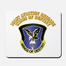 DUI - 101st Aviation Brigade with Text Mousepad