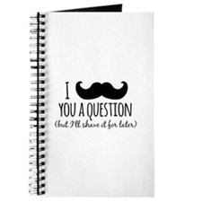 Mustache you a Question Journal