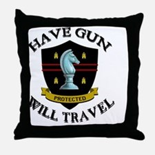 haveguncenter Throw Pillow