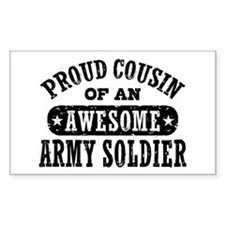 Proud Army Cousin Decal