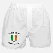Irish Police Officer Boxer Shorts