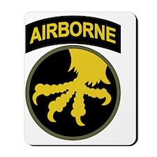 17th Airborne Division Mousepad