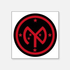 """27th Infantry Division Square Sticker 3"""" x 3"""""""