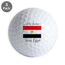 I love egypt Golf Ball