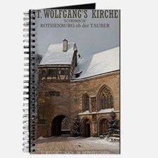 Rothenburg od Tauber - St Wolfgangs Church Journal