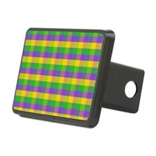 FleurMGcolorPlaidMp Hitch Cover
