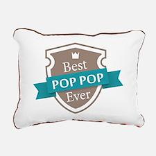 Best PopPop Ever Rectangular Canvas Pillow