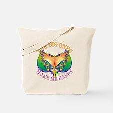 MGbeadsNboobsBigHtr Tote Bag