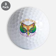 MGbeadsNboobsBigHtr Golf Ball