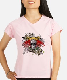 Winged Death Performance Dry T-Shirt