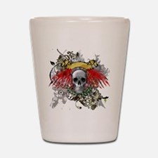 Winged Death Shot Glass