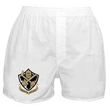 CAK Coat Arms QD dk 10x10_apparel Boxer Shorts