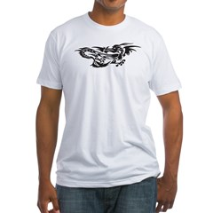 Chinese Dragon Fitted T-Shirt
